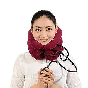 Collar/collarín de la columna vertebral dispositivo de tracción ...