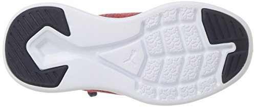PUMA Unisex-Kids Ignite Flash Evoknit Sneaker, Ribbon Red-Peacoat White, 10.5 M US Little Kid by PUMA (Image #3)