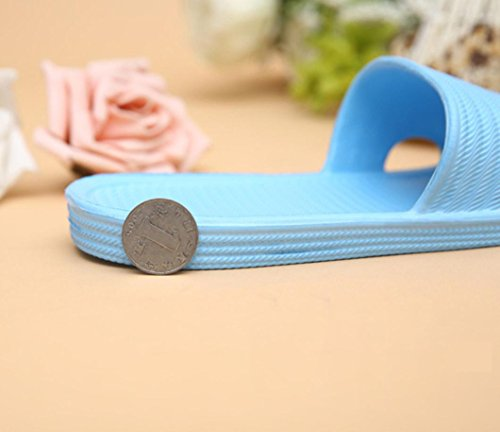 Women Outdoor Indoor Flat Sandals Stripe amp; Blue Anboo Slippers Bath Summer Sky qxUCYwad1
