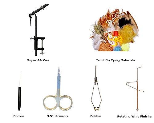 fly fishing tie kit - 9