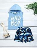 bilison Toddler Baby Boy Clothes Wild Boy Hooded