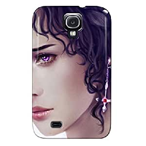 Beautiful Face Silver Beautiful Face For Sumsang Galaxy S4 Cover Case