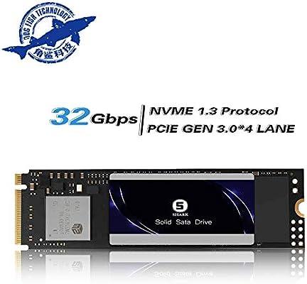 SSD PCIe NVMe 500GB Ngff Shark Unidad De Estado Sólido Incorporada ...