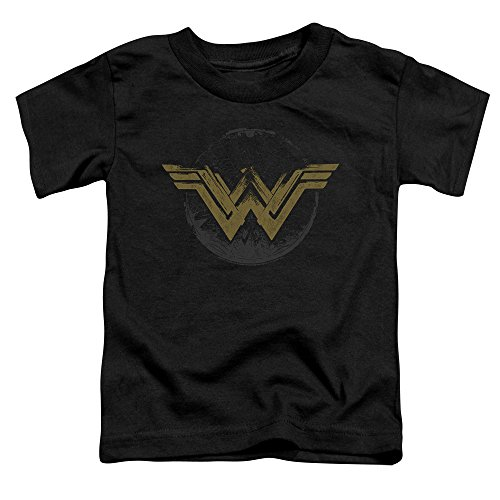 Price comparison product image Distressed Logo -- Wonder Woman Movie Toddler T-Shirt,  Toddler Small (2T)