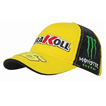 Valentino Rossi Kerakoll trucker cap yellow  Amazon.co.uk  Sports   Outdoors 12da161081a