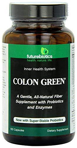 Futurebiotics Colon Green Fiber Supplement, 150 Vegetarian Capsules For Sale