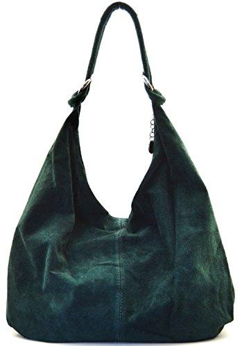 Cuir femme nubuck 2018 FONCE sac cuir bloom Destock épaule VERT à porté main Modèle nouvelle collection main r1SrgYpq