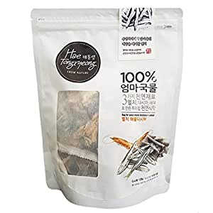 Premium Quality Dried Mix Seafood and Anchovy Dashi Bag for Soup 다시백 (Anchovy-Seafood, Pack 16gx8 bags)
