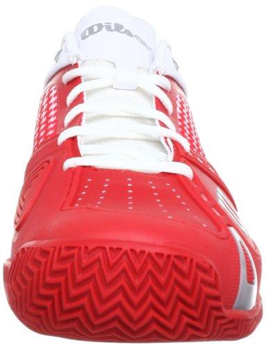 Wilson Wrs316970E115 - Zapatillas de deporte para hombre Rojo (Rot (Red))