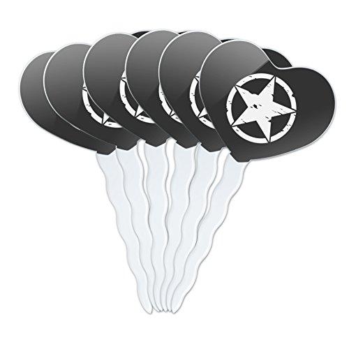 Oscar Mike On Mission Move Vintage Military Star Metal Vanity Tag License Plate