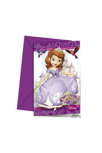Disney Sofia the First Invitations (Pack of 6)]()