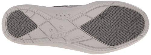 crocs Walu II Leinwand Loafer Concrete/Pearl White