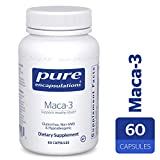 Pure Encapsulations – Maca-3 – Hypoallergenic Supplement Promotes Healthy Libido and Reproductive System Function* – 60 Capsules For Sale