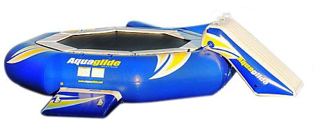 Aquaglide Platinum SuperTramp Water Trampoline (14-Feet) (Towable Covered)