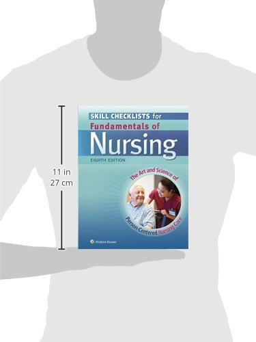 skill checklists for fundamentals of nursing the art and science of nursing care