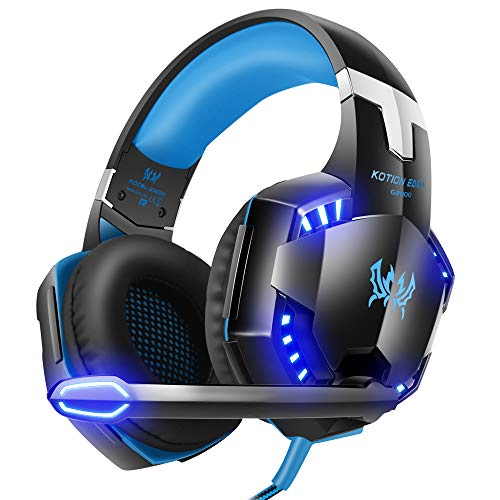 G2000 Stereo Gaming Headset. LinGear Xbox One PS4 Headset PC Gaming Headset