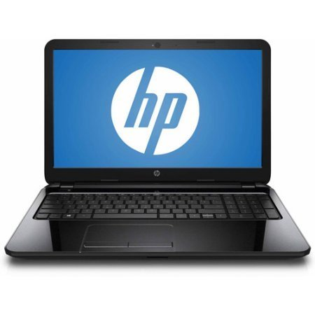 HP Sparkling Black 15.6' Laptop PC with AMD A8-6410 Quad-Core Processor, 4GB Memory, 750 Hard Drive and Windows 8.1 (Certified Refurbished)