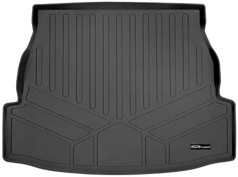 SMARTLINER All Weather Custom Fit Cargo Liner Trunk Floor Mat Black for 2019-2021 Toyota RAV4 – All Models