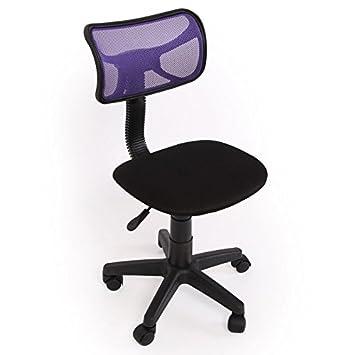 Schreibtischstuhl kinder lila  Kinder- und Jugend-Bürostuhl Schreibtischstuhl N30 Netzstruktur ...