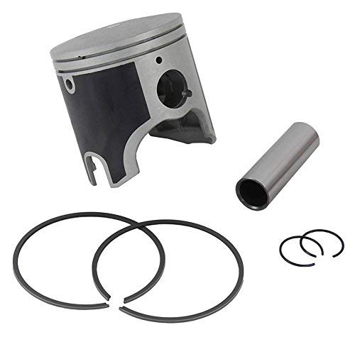 (Jet Ski PWC Piston and Ring Kit for Yamaha XL LIMITED GPR 1200 1200PV XLT GP1200R XR 1800 PWC Replaces 66V-11631-00-A0 and 66V-11631-00 STD - Also Replaces 47-407)