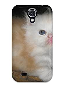 8639419K78159906 Teacup Cats Feeling Galaxy S4 On Your Style Birthday Gift Cover Case
