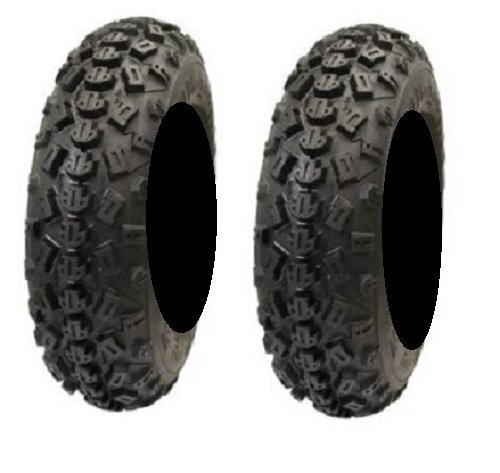 Pair Tech Front 22x7 10 Tires