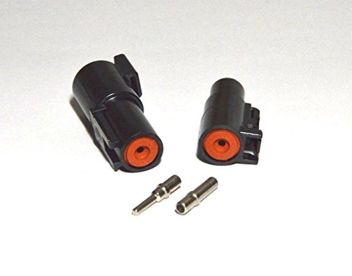 Deutsch 1-pin Connector Kit W/housing, Terminals, Pins, and Seals 12-14 Gauge Solid Contacts