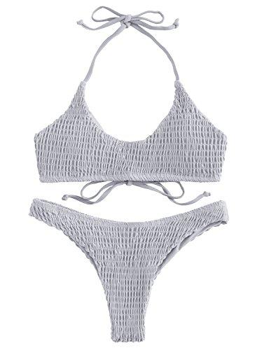 Solid Bikini Sets in Australia - 7