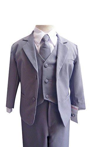 Classykidzshop Baby-Boy's Formal Suit with Long Tie Set b...