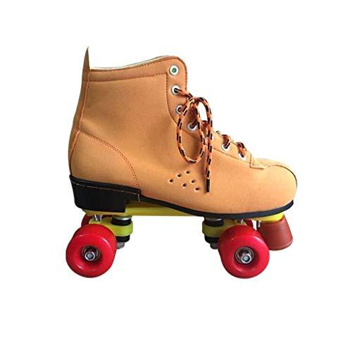 検出器アーサー丁寧LIUXUEPING ダブル列スケート、 ローラースケート、 二列のスケート、 四輪のローラースケート
