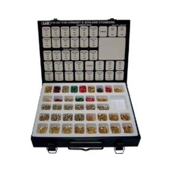 Schlage Kwikset 2n1 Pro Pin Kit For Re Keying Metal
