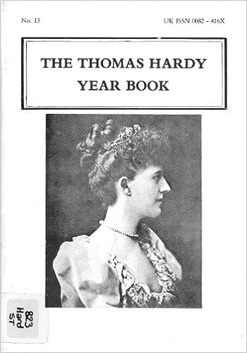 Gratis online engelsk bog download The Thomas Hardy Year Book No. 13 B0011Z9RBG PDF