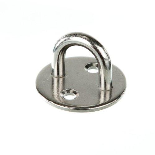 MARINOX Augplatte rund | 33 - 50 mm | V2A, Bügelstärke:Ø 33 mm - Bügelstärke 5 mm