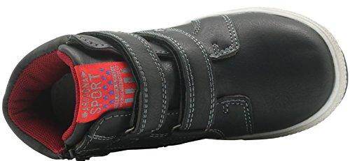 Apakowa Kids Boys High Top Boots Jungs Turnschuhe Black