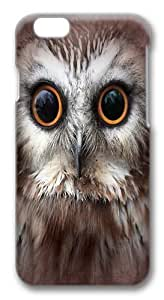 iPhone 6 Case and Cover -Saw Whet Owl Custom Hard Case Cover for iPhone 6