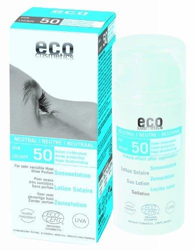eco cosmetics: Sonnenlotion LSF 50 neutral (100 ml)