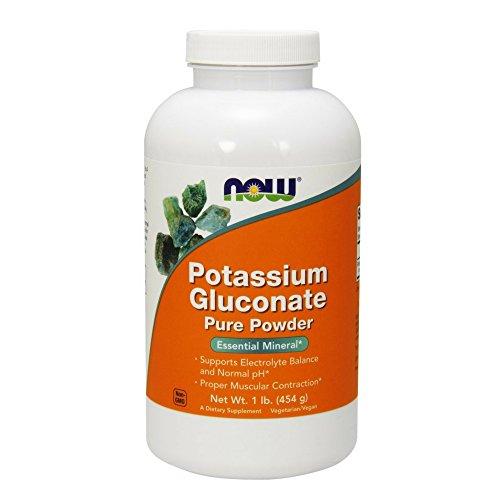 NOW Potassium Gluconate Powder 1 Pound