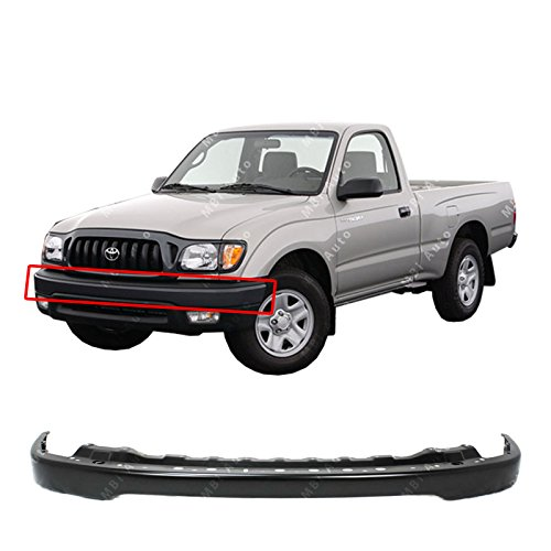 MBI AUTO - Primered, Front Bumper Steel Face Bar for 2001-2004 Toyota Tacoma Pickup 01-04, TO1002176