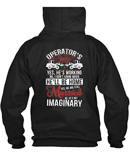 We are Still Married Hoodies, Operator's Wife T Shirt-Hoodie (L, -