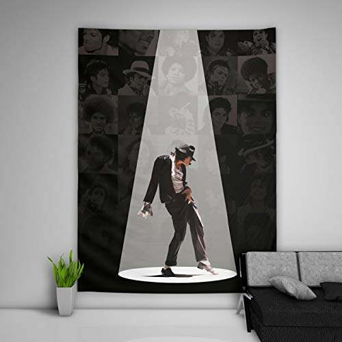 Michael Jackson Tapestry Art Wall Hanging Sofa Table Bed Cover Mural Beach Blanket Home Dorm Room Decor Gift