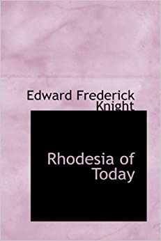 Book Rhodesia of Today