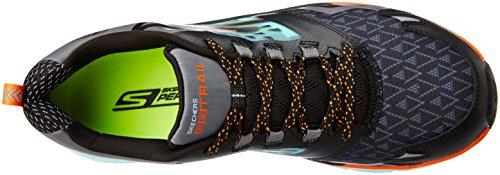Gli Skechers Mens Vanno Trail Black / Aqua