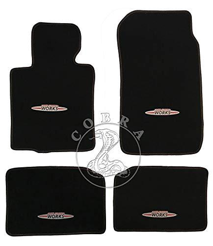 Cobra Auto Accessories Floor MATS Carpet FITS Mini John Cooper Works Countryman 2013 2014 2015