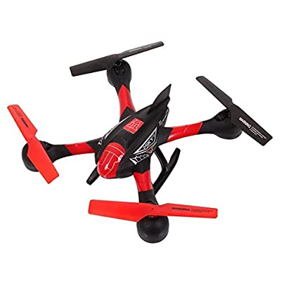 Czxin SKY Hawkeye Hm1315s 5.8g Video Real-time Transmission FPV RTF Remote Control Quadcopter Rc Drone Helicopter with Headless Flight Mode and a Key to Return Function (Red&black)