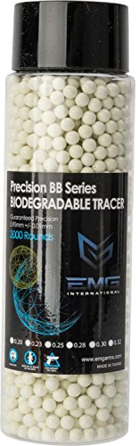 Evike EMG Precision Biodegradable Green Tracer Glow BBS (Weight: ()