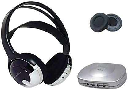 [해외]Bundle Tv Listener J3 Rechargeable Wireless Headset wExtra Ear Pads / Bundle Tv Listener J3 Rechargeable Wireless Headset wExtra Ear Pads
