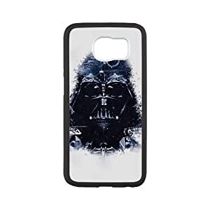 Samsung Galaxy S6 Cell Phone Case Black Darth Vader Art Star Wars Illust JSK839442