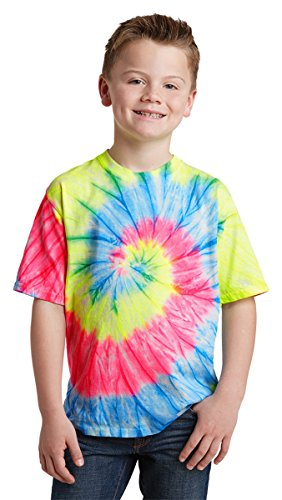 port-company-boys-essential-tie-dye-tee-pc147y-neon-rainbow-m