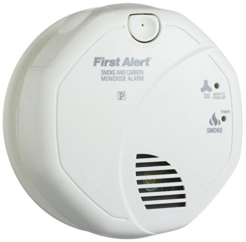 First Alert SCO5CN Battery Operated Combination Carbon Monoxide/Smoke Alarm (4 Pack)