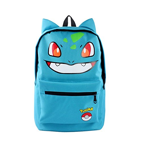 HEYFAIR Cute Pocket Monster Pokémon Casual Backpack School